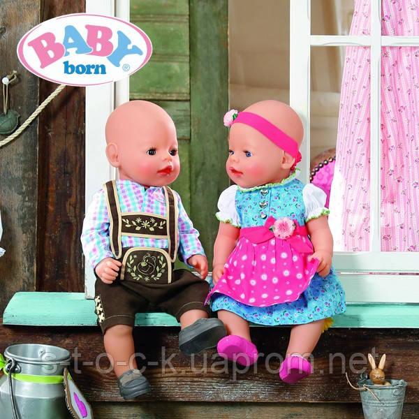 Baby Born Чудесный набор одежды для куклы 822852