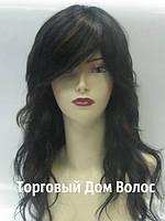 Парик из натуральных волос с челкой (096)