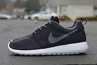 Кроссовки мужские кроссовки Nike Roshe Run Grey
