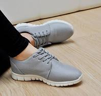 Кроссовки женские реплика Nike серые - Рапродажа