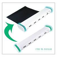 USB HUB2.0 с выдвижным ковриком под мышку
