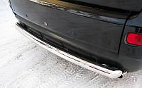 Защита заднего бампера для Mitsubishi Outlander 2008