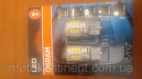 W21W Лампочки в габариты  OSRAM LED Retrofit STANDARD W21W LED 12V 2.5W 6000K W3X16D холодный белый 7705CW-02B