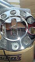 Колпаки на диски закрытые нержавейка 22,5 с надписью  Scania