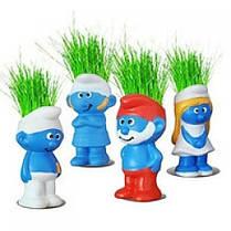 Горшочек с травой Смурфики Smurfs