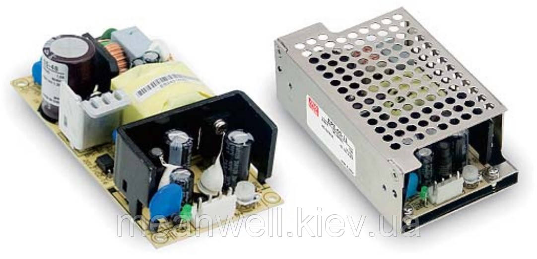 EPS-65-24 Блок питания Mean Well  Открытого типа 65 Вт, 24 В, 2.71 А (AC/DC Преобразователь)