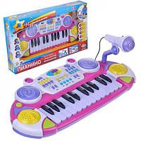 Детское пианино 7234 Музыкант муз, свет