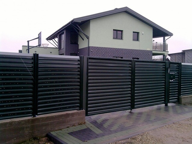Забор «Жалюзи» Эксклюзив