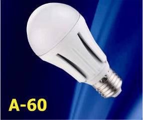Лампа диод. LUMEN LED A60 10W 220V 4100K E27 матовая