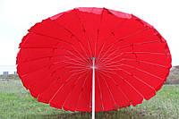 Зонт 3м из плотной ткани, 24 стальные спицы
