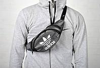 Сумка бананка через плечо, на пояс банан/ Adidas