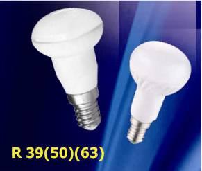 Лампа диод. LUMEN LED R39 5W 220V 4100K E14 матовая