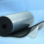Rubber C толщ. 25 мм листовой синтетический каучук с самоклеящимся слоем