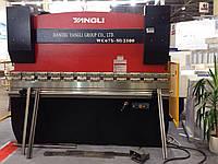 Yangli WC 67 Y 80/2500 кромкогиб гидравлический гибочный пресс листогиб