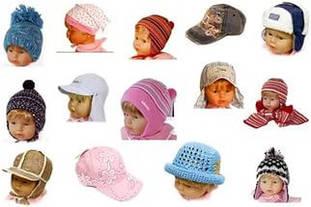 Головные уборы детские