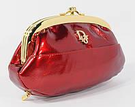 Косметичка женская кожаная Dior 916 красная, расцветки в наличии