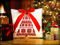 Новогодняя светящаяся подушка «Ёлочка»
