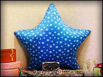Новогодняя светящаяся подушка Звездочка