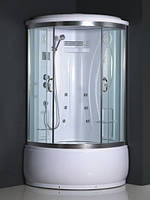 Гидромассажный бокс Atlantis A008 100x100 с высоким поддоном
