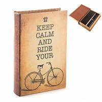 """Книга - сейф с замком """"Велосипед"""", 26*17*5см."""