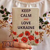 Обложка для паспорта Маки Украины