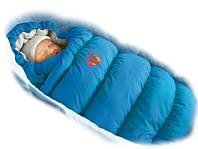 Конверт-пуховик Ontario Baby Inflated-A фланель (дутик 50х90) василек
