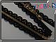 Металл на кружевной основе 50см №3 gold 1бег, фото 2