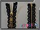 Металл на кружевной основе 50см №3 gold 1бег, фото 4