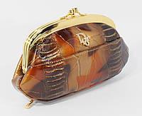 Косметичка женская кожаная Dior 916 коричневая, расцветки в наличии
