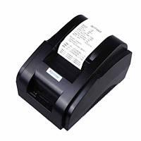 Термопринтер POS чековый принтер 58мм