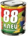 """Клей 88 универсальный 0,65 кг (Ж/Б) - ООО """"Логос, ЛТД"""" в Запорожье"""
