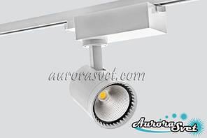 Светодиодный трековый светильник, 30W, 6500 К, LED EV