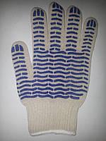 Перчатка TOTUS Волна белая