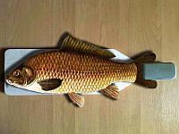 Разделочная доска для рыбы с зажимом