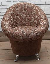 Тюльпан кресло на хромированных ножках