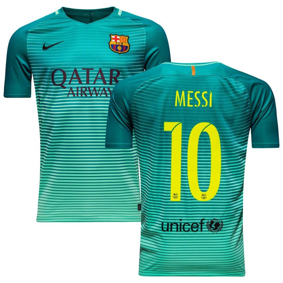 Футбольная форма Барселона Месси (Messi) 2016-2017 Гостевая  продажа ... 095973064a5