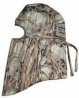 Шлем-маска с сетки камыш осенний.