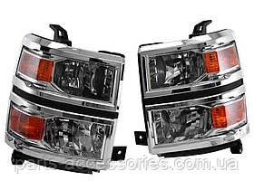 Chevrolet Silverado 2014-16 передні фари фара ліва права Нові