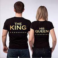 THE KING HIS QUEEN парные футболки (майки) для влюбленной пары