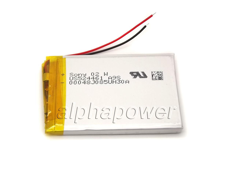 Аккумулятор 1800mAh 3.7v 524461