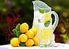 """Схема для вышивки бисером """"Лимонад"""", А3"""