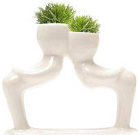 Травянчик керамический двойной