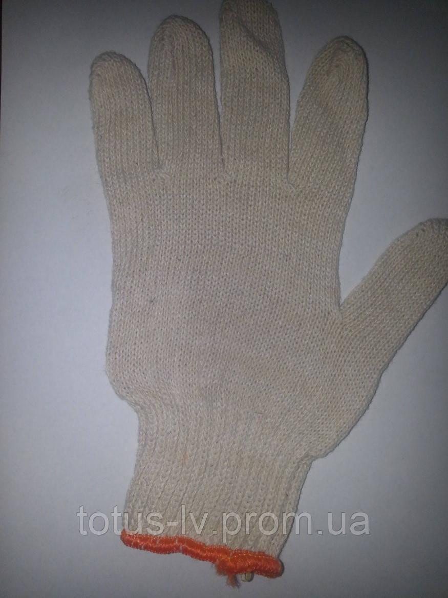 Перчатка без ПВХ белая 330