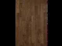 Паркетная доска BeFag Дуб Robust темно-коричневый, лак