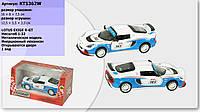 Коллекционная Модель - Lotus Exige R-GT, инерционная, открываются двери, Kinsmart KT5362W