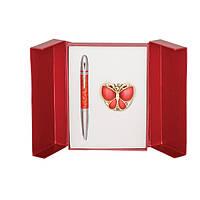 Ручка подарочная Набор подарочный Papillon ручка шариковая и крючок для сумки, LS.122010 Langres (LS.122010-05