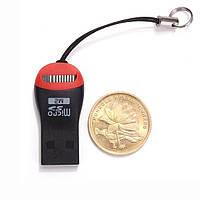 Кардридер USB 2.0 MicroSD/M2