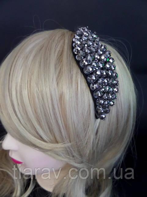 Обруч для волос Бусины капля ободок модный аксессуары для волос