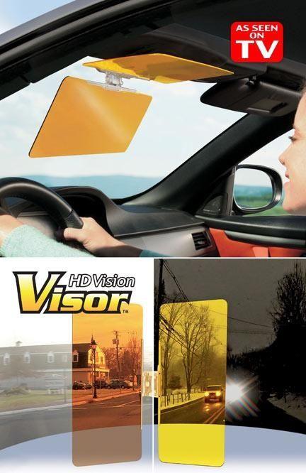 """Козырек для автомобиля """" день и ночь """" HD VISION VISOR"""