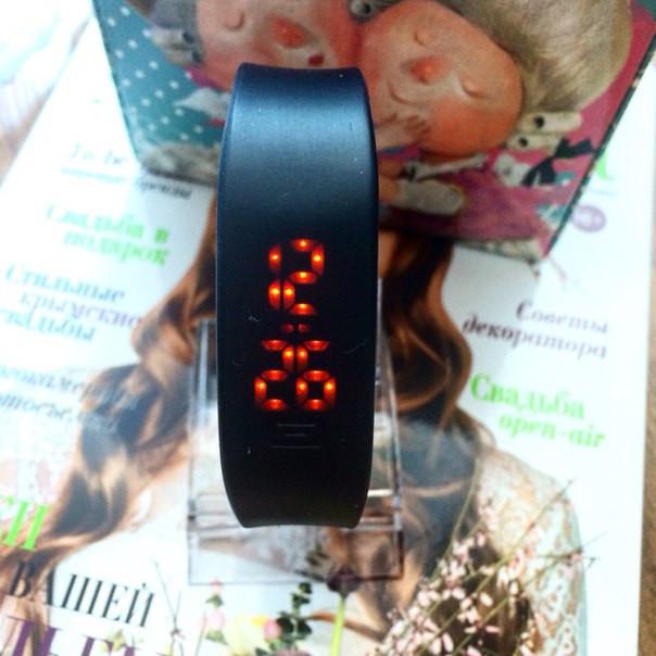 Женские силиконовые часы для бега